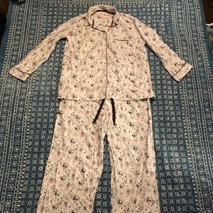 Victoria's Secret Flannel Pajamas